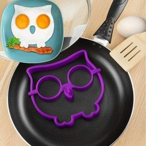 Owl Silicone Egg Mould